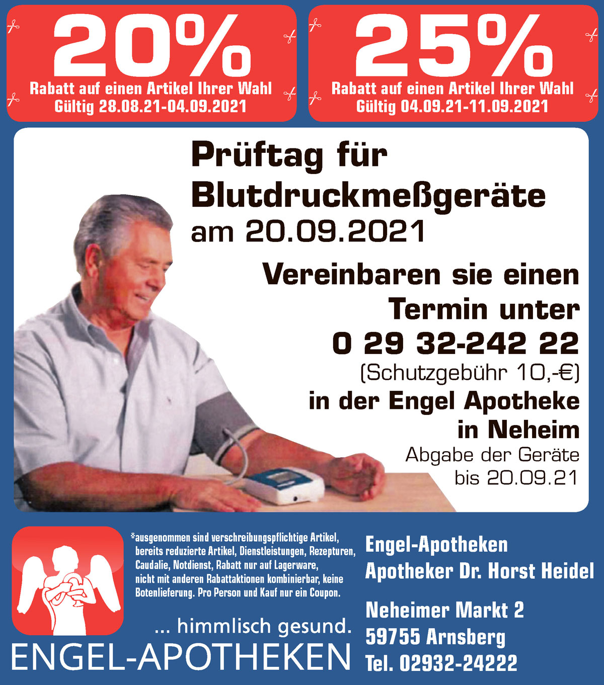 Aktuelle Angebote der Engel Apotheken